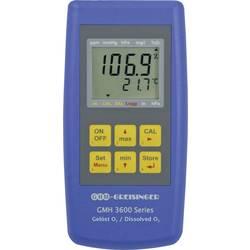 Greisinger GMH 3611 merilnik raztopljenega kisika, vključ. senzor, kalibracija narejena po: delovnih standardih