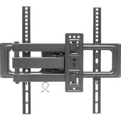 Stenski nosilec za monitor 81,3 cm (32) - 139,7 cm (55) Nagibni in obračalni Manhattan TV-Wandhalterung für Flachbildschirme u
