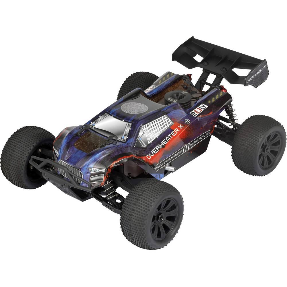 Reely Overheater 1:8 RC model avtomobila na daljinsko vodenje, Nitro Truggy, pogon na vsa kolesa, RtR, 2,4 GHz