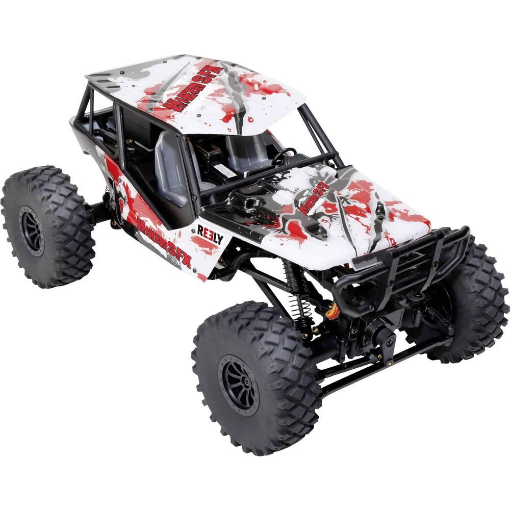 Reely Hiker SFX krtačni 1:18 RC model avtomobila na daljinsko vodenje, Crawler, pogon na vsa kolesa, RtR, 2,4 GHz vklj. zvočni m