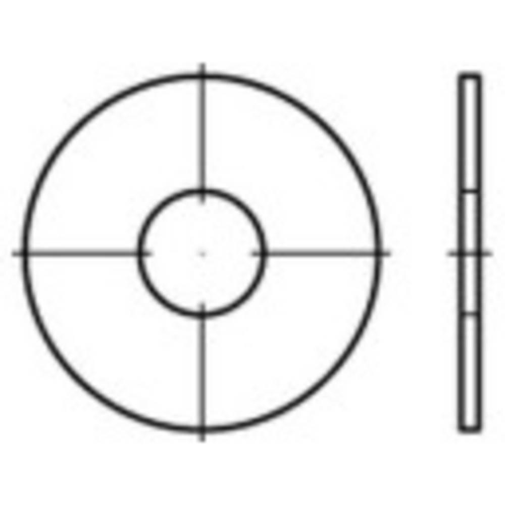 TOOLCRAFT podloške za karoserije, unutarnji promjer: 8.4 mm čelik, pocinčani 200 komada TOOLCRAFT 159278