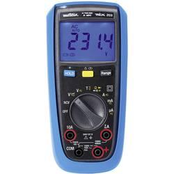 Metrix MTX 203 ročni multimeter digitalni zaščiten pred škropljenjem vode (ip54) CAT III 600 V Prikaz (štetje): 6000
