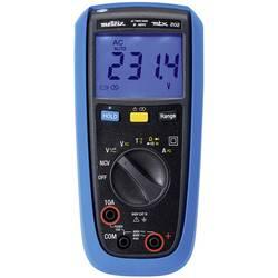 Metrix MTX 202 ročni multimeter digitalni zaščiten pred škropljenjem vode (ip54) CAT III 600 V Prikaz (štetje): 4000