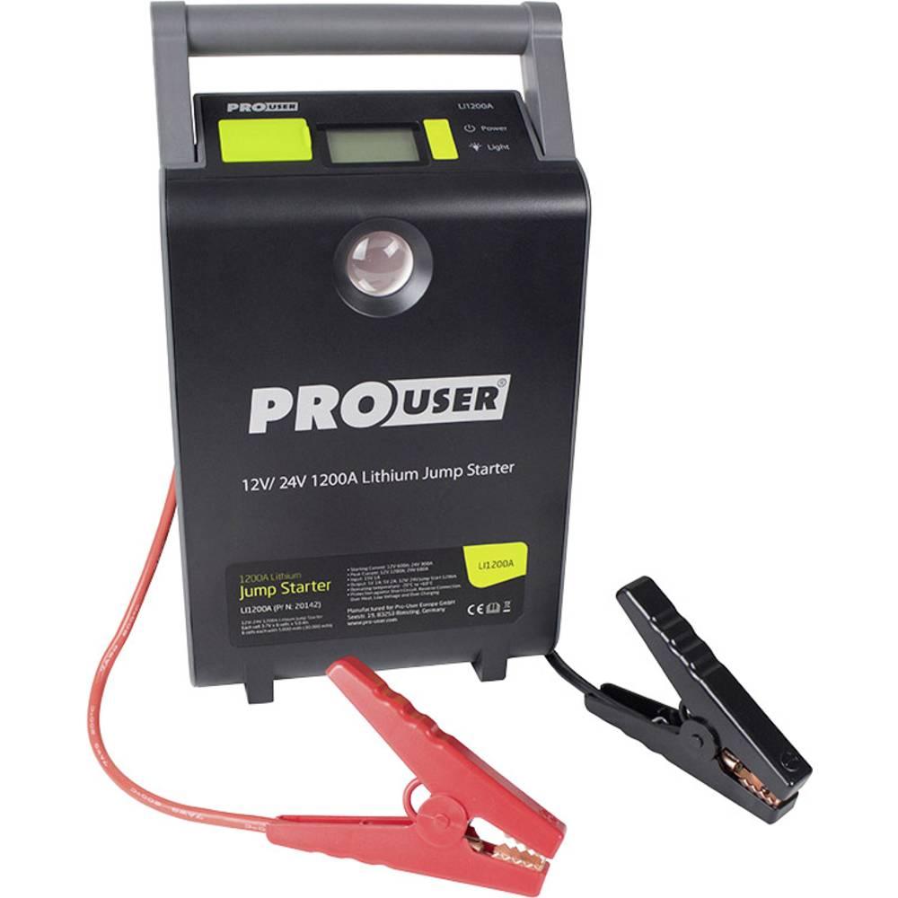 Starthjælp ProUser Lithium Jump Starter 12/24V 30.000mAh / LI 1200A 30 Ah