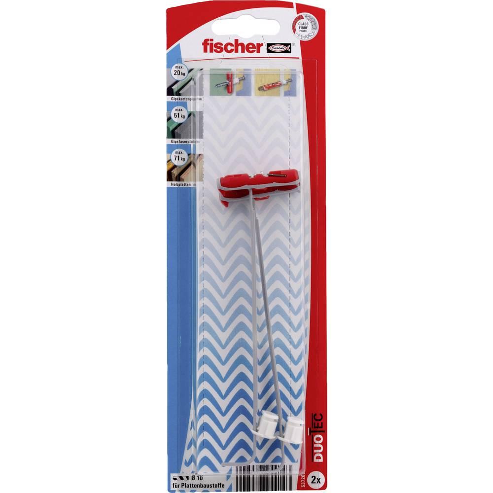 Fischer DUOTEC 10 K prevesni vložek 10 mm 537265 2 kos