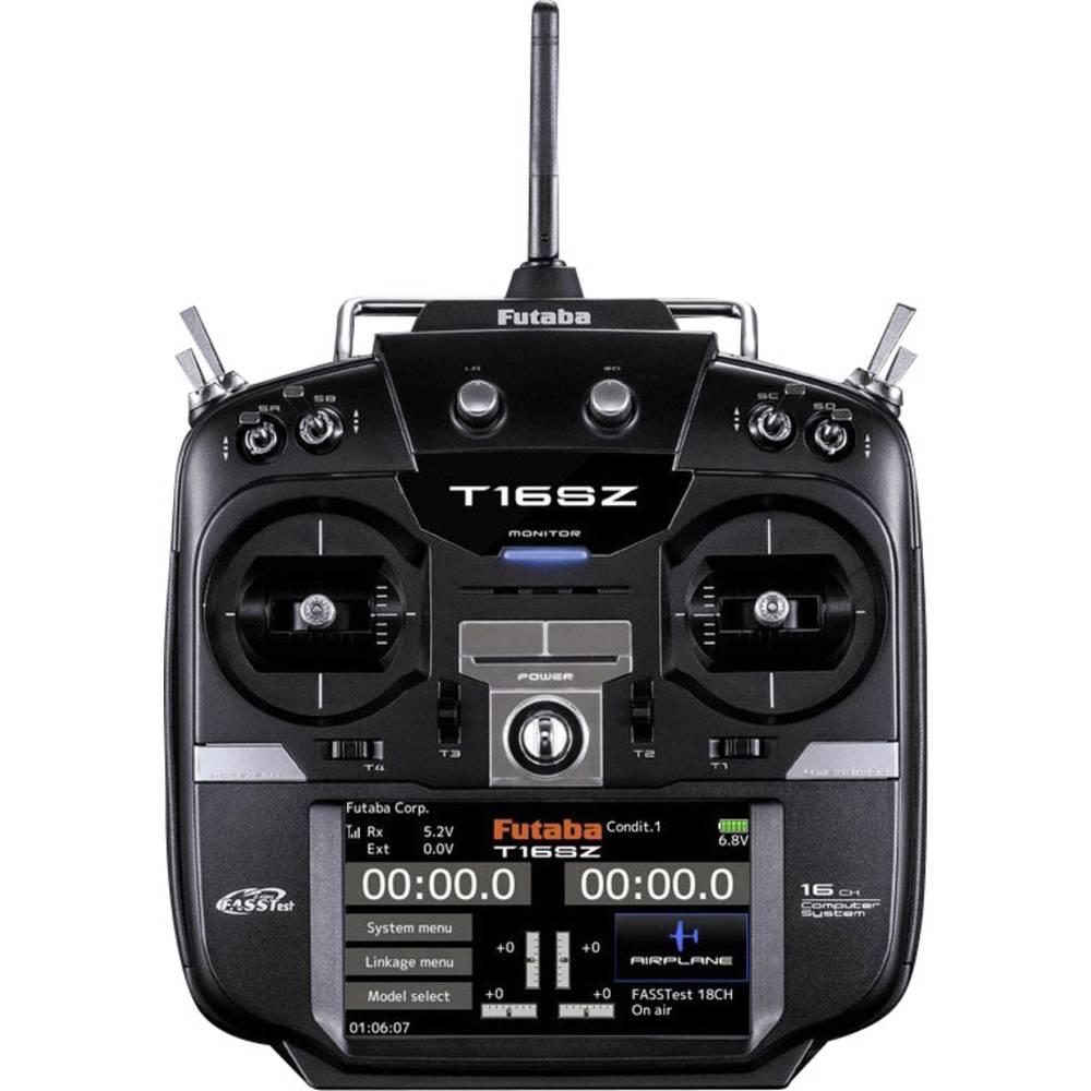 Futaba T16SZ Mode 2 Ručni daljinski upravljač 2,4 GHz Broj kanala: 16 Uklj. prijemnik