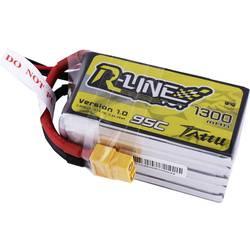 LiPo akumulatorski paket za modele 18.5 V 1300 mAh Broj ćelija: 5 95 C Tattu Softcase XT60