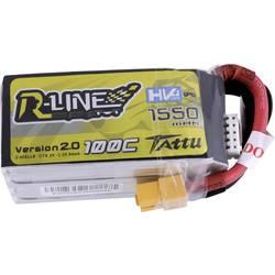 LiPo akumulatorski paket za modele 15.2 V 1550 mAh Broj ćelija: 4 100 C Tattu Softcase XT60