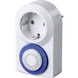 Stikalna ura za vtičnico, analogna, dnevni program Brennenstuhl 1506160 3500 W IP20