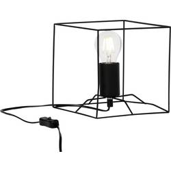 namizna svetilka led E27 60 W Brilliant Vidia 90076/06 črna