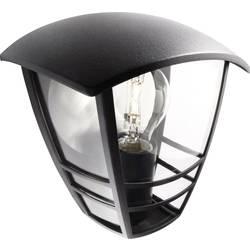 Philips Creek 153873016 Zunanja stenska svetilka EEK: odvisno od svetilke (A++ - E) LED E-27 60 W Črna
