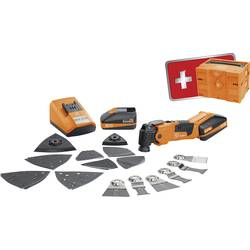 Multiverktyg batteridriven Inkl. Tillbehör, Inkl. väska 39 delar 18 V 2.5 Ah Fein Akku MulltiMaster AFMM 18 QSL EDITION 2017 712
