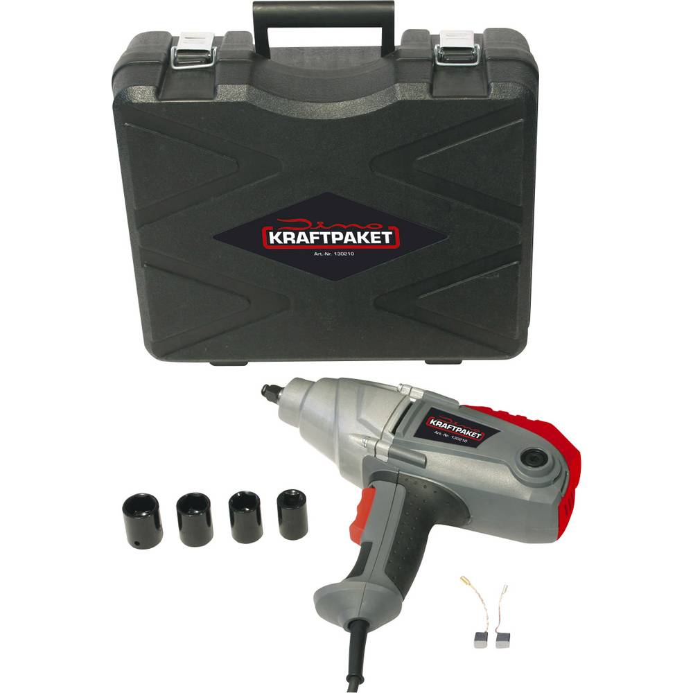 Batteri-slagskruemaskine DINO KRAFTPAKET 500Nm 130210