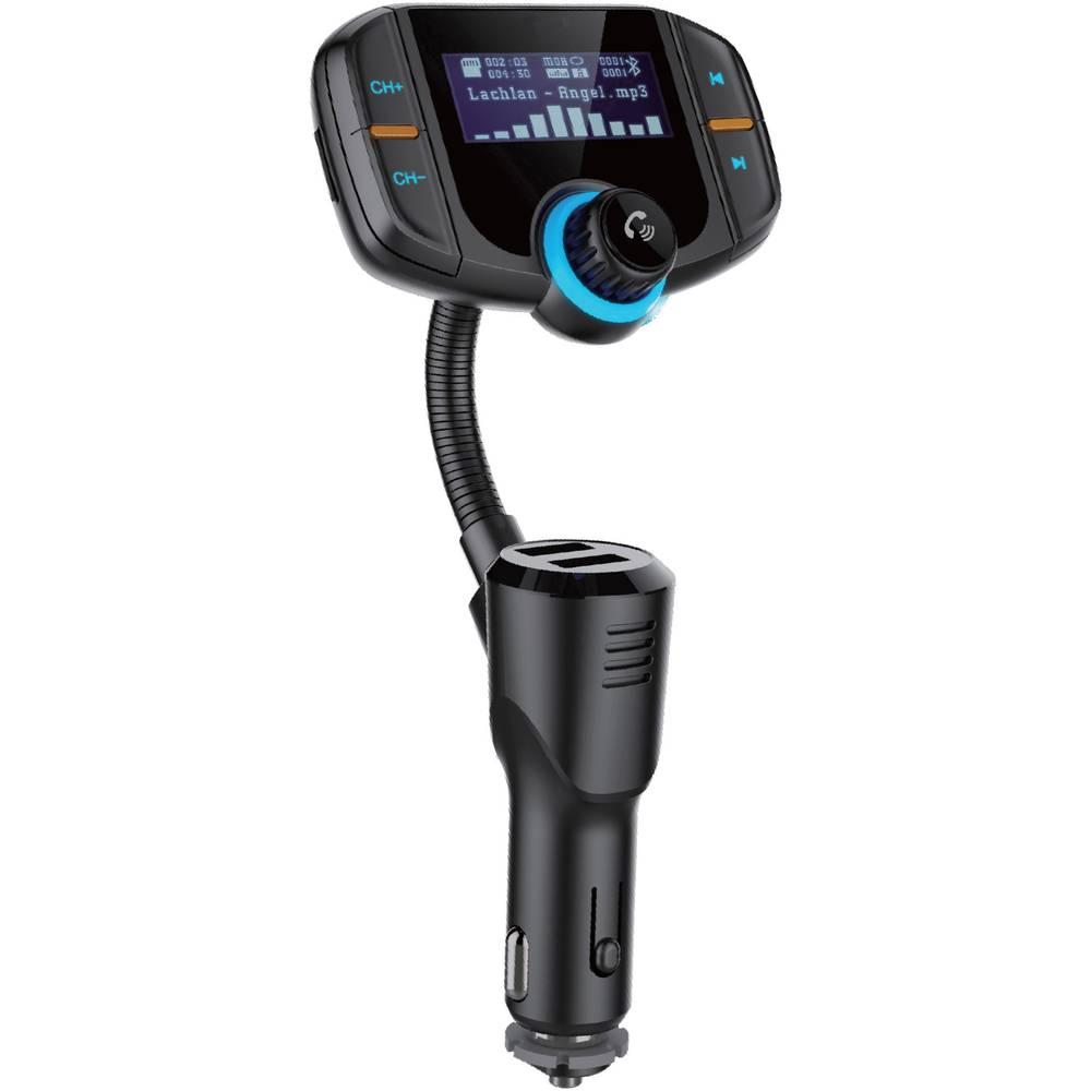 FM oddajnik Renkforce RF-FMD-01 Bluetooth®, microSD, klinken, USB, s funkcijo prostoročnega govorjenja