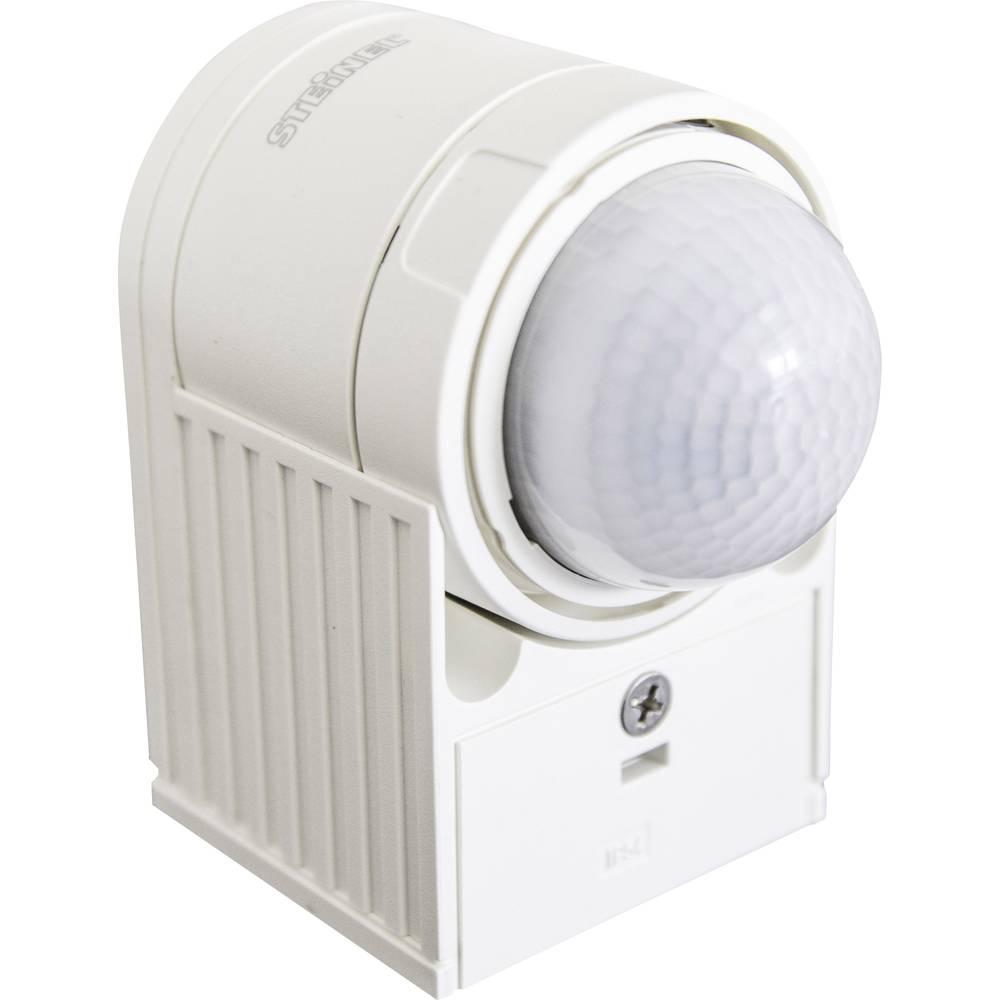 Steinel IS 300 weiß stena, nadometna javljalnik gibanja 300 ° bela ip54