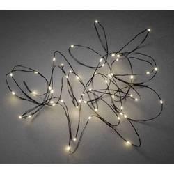 Konstsmide 6386-100 svetlobna veriga z motivom kapljice znotraj električni pogon Število svetil 50 led Dolžina osvetlitve: 4.9 m