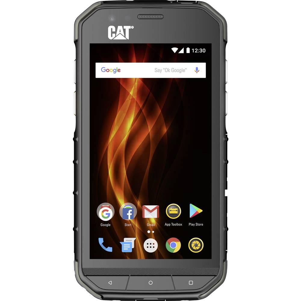 CAT S31 16 GB 4.7 (11.9 cm)Dve SIM kartici Android™ 7.0 Nougat 8 Mio. Pikslov Črna