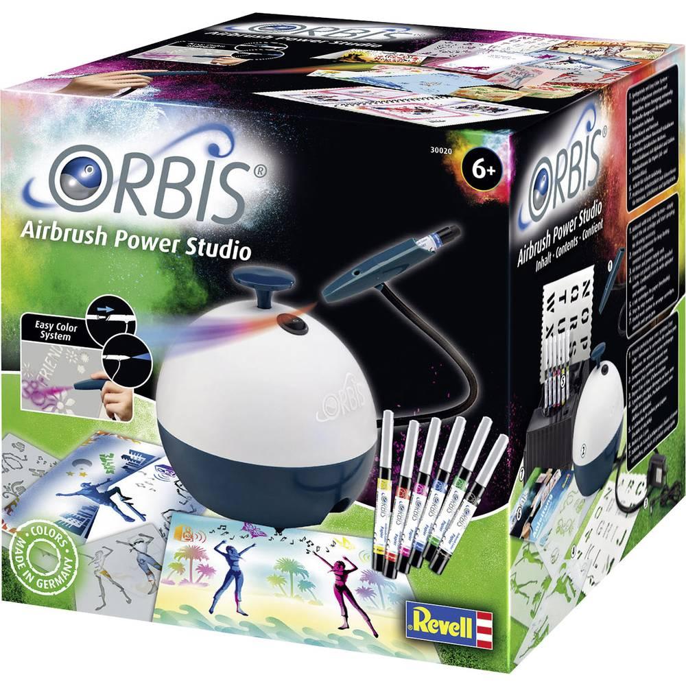 Uvajalni Airbrush komplet S kompresorjem Orbis 30020