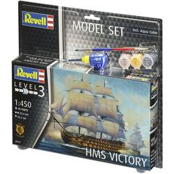 Fartygsmodell byggsats Revell HMS Victory 65819 1:1200