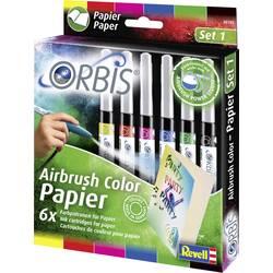 barvne kartuše Orbis rdeča, rumena, modra, črna, zelena, roza vložek 1 set