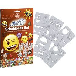 Orbis airbrush šablona 30224 Emoji