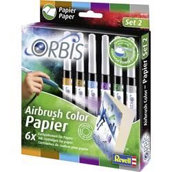 barvne kartuše Orbis oranžna, rjava, lila, svetlo modra, temno zelena, siva vložek 1 set
