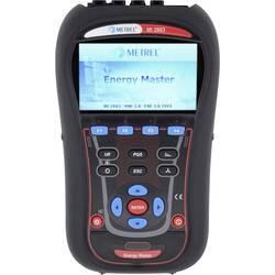 Metrel MI 2883 EU analizator omrežja Kalibrirano (ISO) 3 fazna vklj. tokovne klešče, s funkcijo zapisovalnika