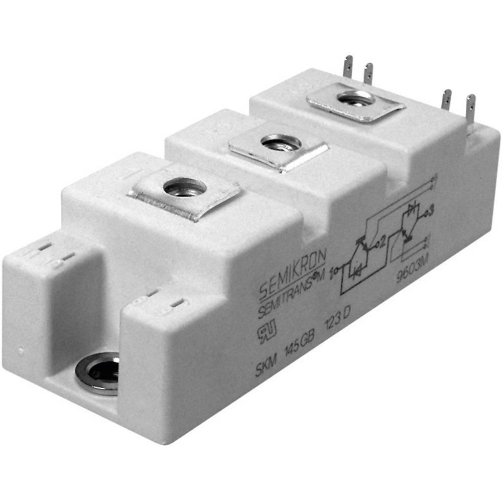Semikron SKM145GB176D-SPT IGBT Modul, kućište SEMITRANS®, 2 I(C) 160 A, U(CES) 1700V 22890695