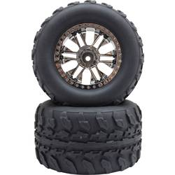 Reely 1:10 komplet koles za Monstertruck titan 2 kosa