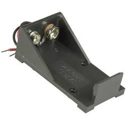baterije - držač 1x 9 V block kabel (D x Š x V) 55 x 30 x 21 mm MPD BH9VW