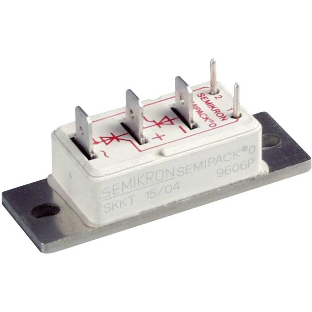SEMIPACK®-Ispravljač diode Semikron SKKE15/12, stambeni, 0 U(RRM) 1200 V 07170891