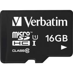 microSDHC-Kort Verbatim Tablet Class 10, UHS-I 16 GB inkl. USB-kortläsare
