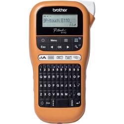 Brother P-touch E110 Tiskalnik nalepk Primerno za pisalni trak: TZe 3.5 mm, 6 mm, 9 mm, 12 mm