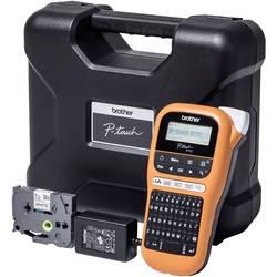 Brother P-touch E110VP Tiskalnik nalepk Primerno za pisalni trak: TZe 3.5 mm, 6 mm, 9 mm, 12 mm
