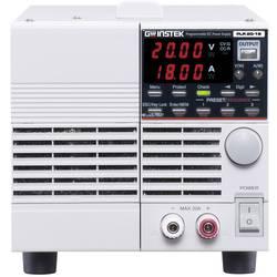 Laboratorijski napajalniki, nastavljivi GW Instek PLR 20-18 0 - 20 V/DC 0 - 18 A 360 W RS-232 Daljinsko vodenje, Programabilni,