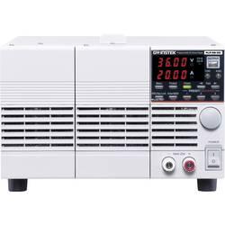 Laboratorijski napajalniki, nastavljivi GW Instek PLR 36-20 0 - 36 V/DC 0 - 20 A 720 W RS-232 Daljinsko vodenje, Programabilni,
