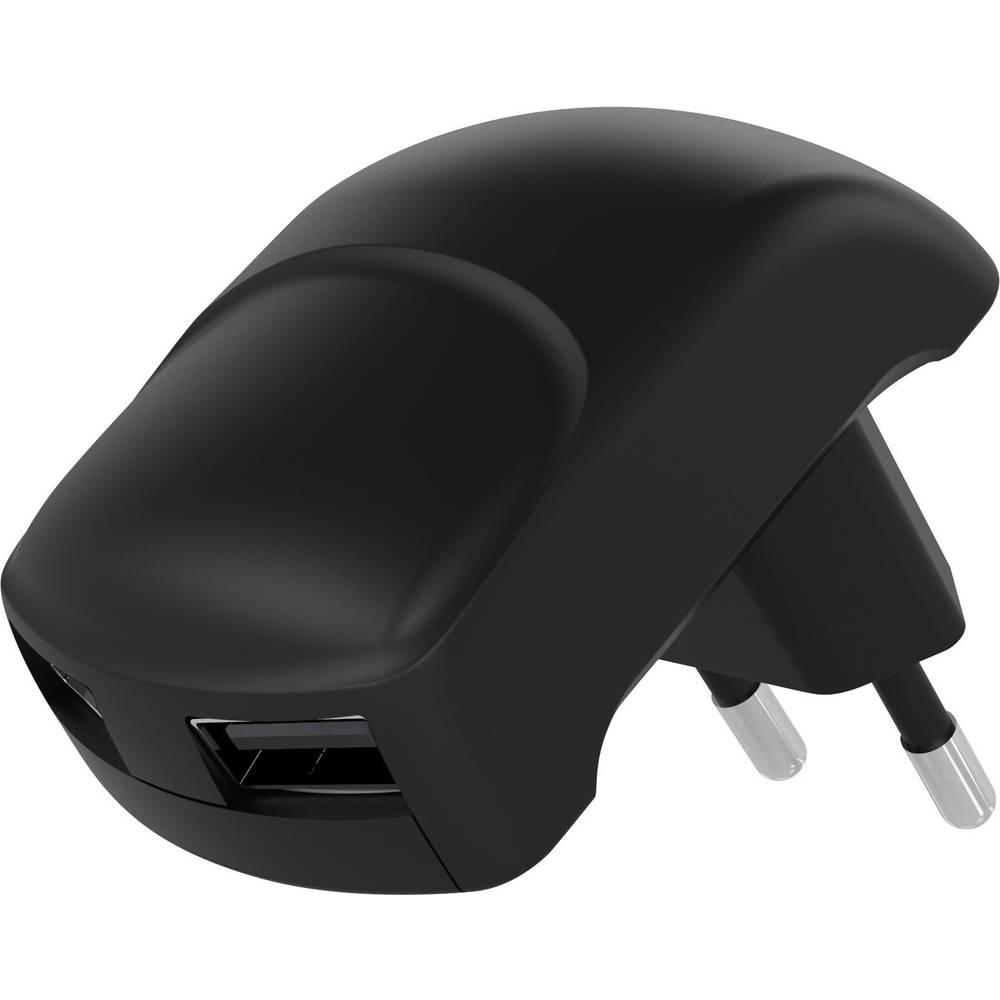 USB-polnilna vtičnica Goobay Dual 59232 izhodna napetost (maks.) 2400 mA 2 x USB 2.0 vtičnica A