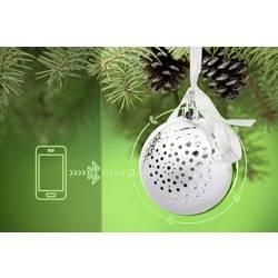 Bluetooth-högtalare Technaxx Christmas Speaker Silver