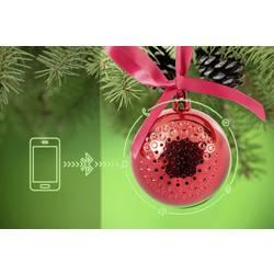 Bluetooth-högtalare Technaxx Christmas Speaker Röd