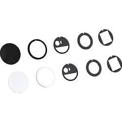 Bachmann 4953471 Oprema za namestitev Bachmann PIX pokrov je črna Črna