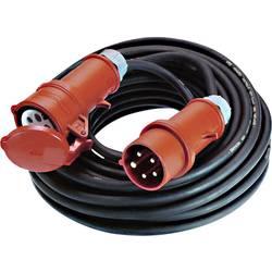 Bachmann 0165025 električni podaljšek 16 A črne barve 5 m za zunanjo uporabo
