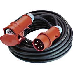Bachmann Electric 0164960 električni podaljšek 32 A črne barve 25 m za zunanjo uporabo