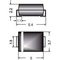 Semikron I(F)(AV) 2 A U rrm(V)50 V S2 A