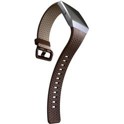 zamjenska traka FitBit Ionic Perforated Leather Cognac Small Veličina (XS - XXL)=s konjak