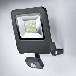 LED-utomhusspotlight med rörelsedetektor OSRAM Endura®Flood 50 W 4000 lm Varmvit Mörkgrå