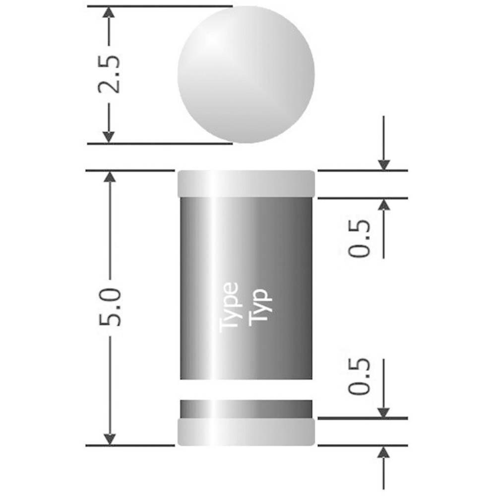 Semikron I(F)(AV) 1 A U rrm(V)50 V SUF 4001 Diotec