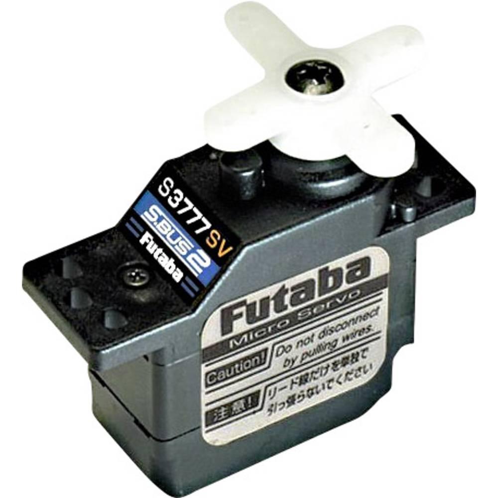 Futaba Nano servo S-Bus2 HV M/G Digitalni servo Materijal prigona: Čelik Sustav utičnica: Futaba