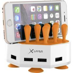 USB polnilna postaja Xlayer Family Charger Mini 212730 vtičnica izhodna napetost (maks.) 6800 mA 4 x USB