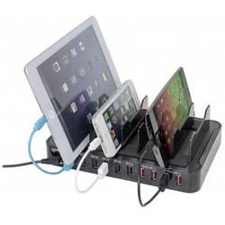 USB polnilna postaja Manhattan 10-Port Charger 180009 Vtičnica Izhodni tok maks. 17000 mA 10 x USB