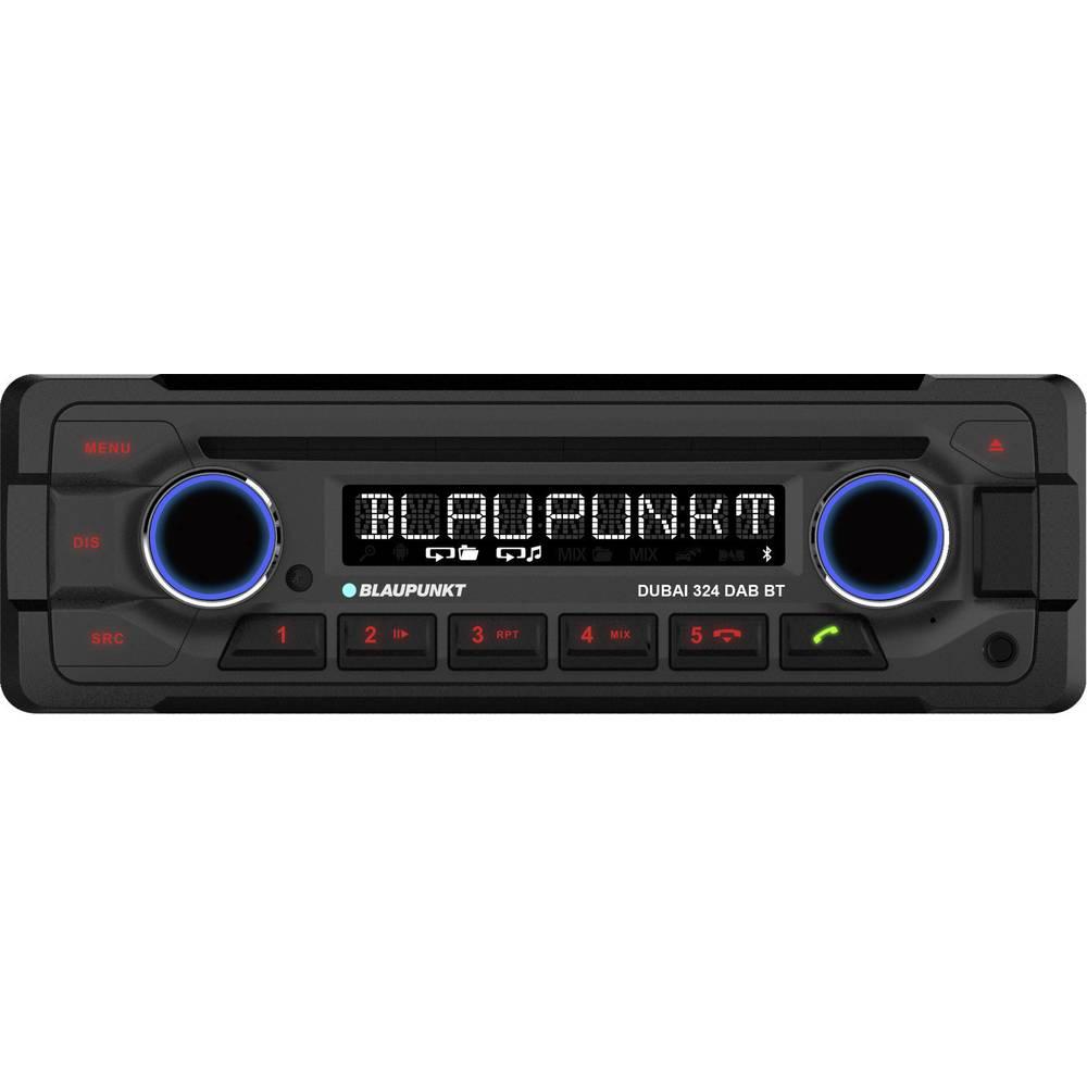 Avtoradio Blaupunkt DUBAI-324 DABBT DAB+ Tuner, Bluetooth® prostoročno telefoniranje, priključek za volanski daljinski uprav